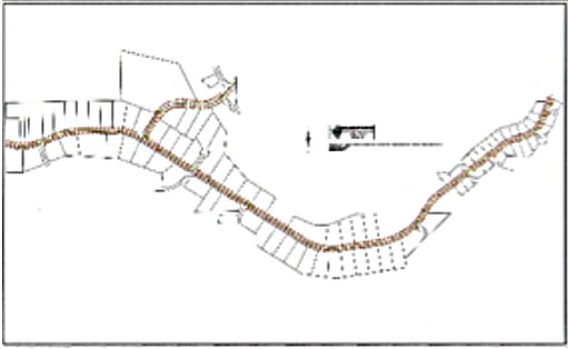truckee_tahoe_glenshire_dorchester_drive_road_widening_route_base_mapping_right_of_way_stationing_project_sage_land_surveying